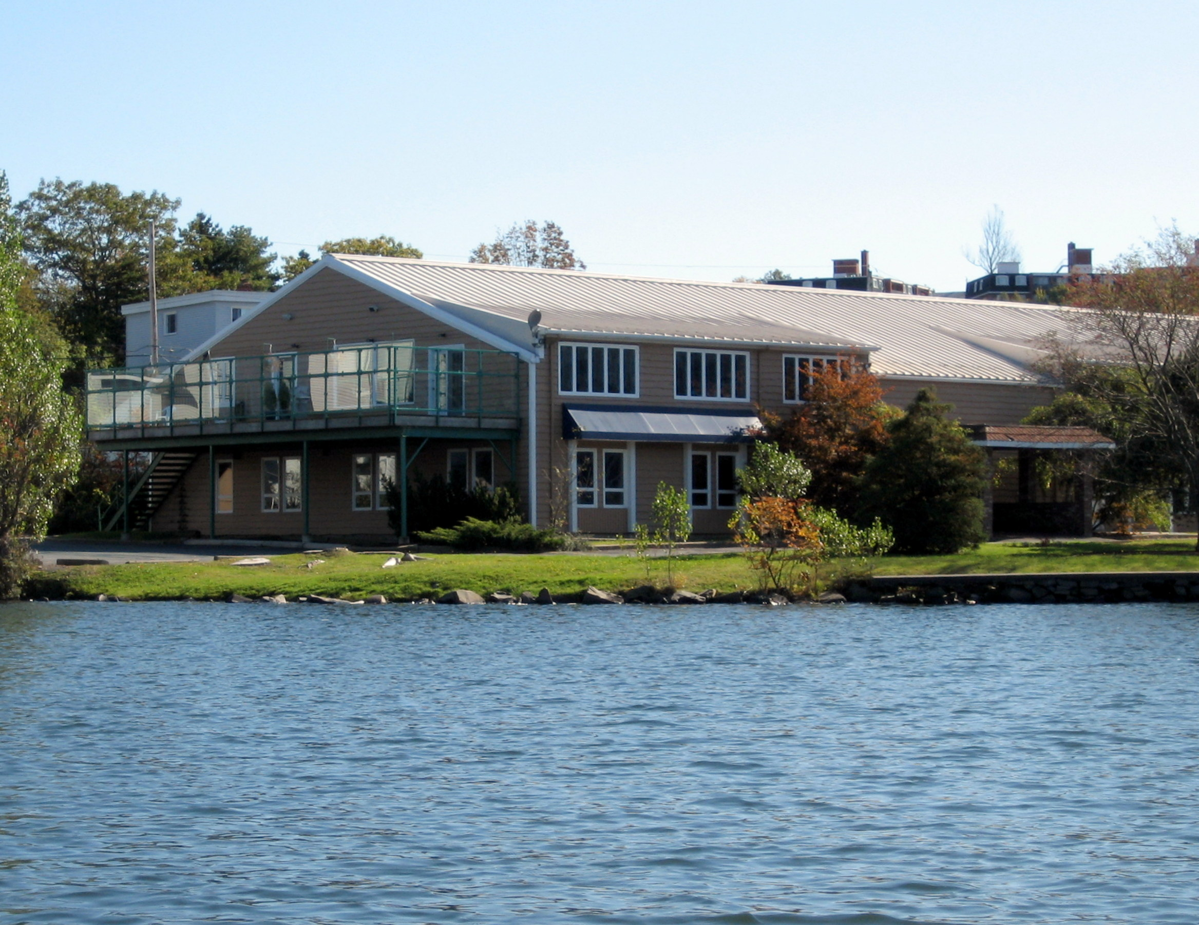 Seaforth Office from the Lake