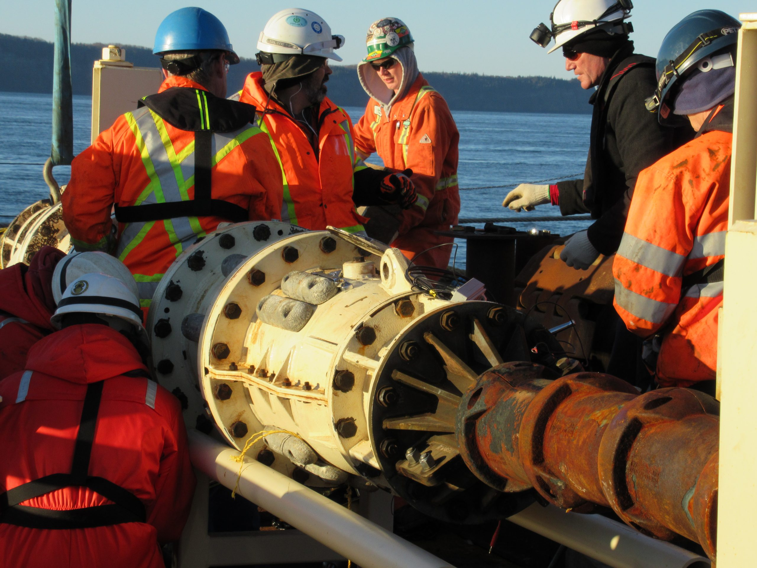 Tidal Turbine Deployment and Cable Connection
